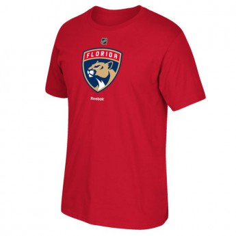 Florida Panthers pánské tričko red Primary Logo New