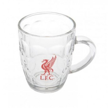 FC Liverpool sklenice čirý korbel logo