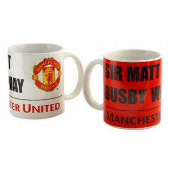 Manchester United keramický hrnek Sir Matt