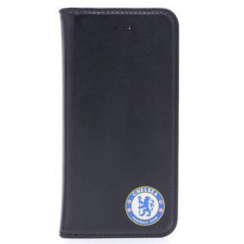 FC Chelsea Kožený obal iPhone 6/6S