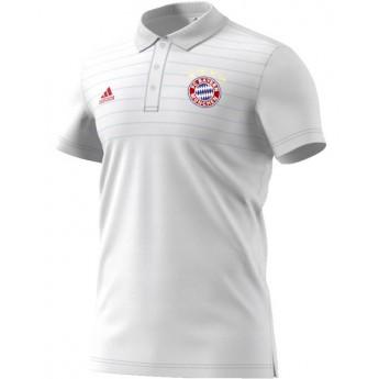Bayern Mnichov pánské polo tričko white Ssp