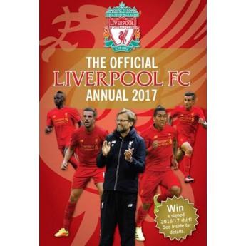 FC Liverpool kniha-ročenka 2016/17
