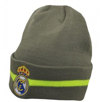 Real Madrid zimní úpletová čepice grey logo