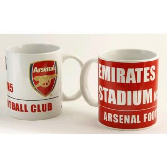 FC Arsenal keramický hrnek stadium 2ks