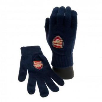 FC Arsenal pánské pletené rukavice blue