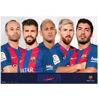 FC Barcelona podložka na stůl team fcb