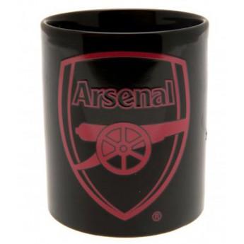 FC Arsenal keramický hrnek black