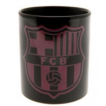 FC Barcelona keramický hrnek black