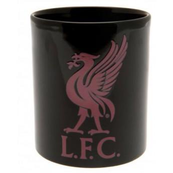 FC Liverpool keramický hrnek black