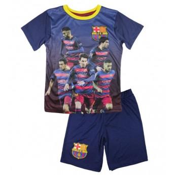 FC Barcelona dětský set team blue