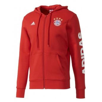 Bayern Mnichov pánská mikina Lin FZ red