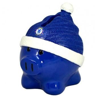 FC Chelsea pokladnička pig blue