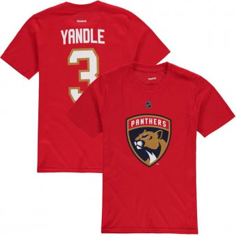 Florida Panthers dětské tričko red Keith Yandle Name & Number