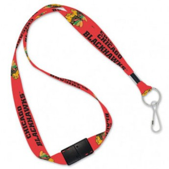 Chicago Blackhawks klíčenka na krk Team Lanyard