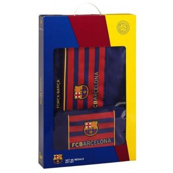 FC Barcelona dárkový set dvou tašek striped