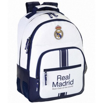 Real Madrid batoh Best Club of the word white