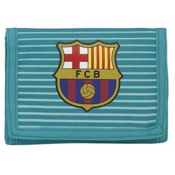 FC Barcelona rozkládací peněženka més que un club light blue