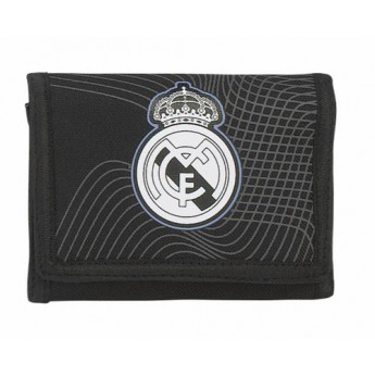 Real Madrid rozkladací peněženka one color one club black