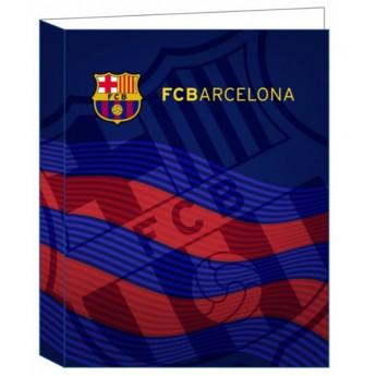 FC Barcelona kroužkový pořadač A4 bluered fans