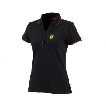 Ferrari dámské polo tričko Classic black F1 Team