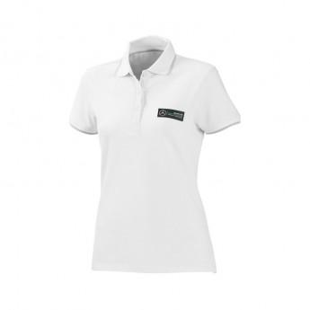 Mercedes AMG Petronas dámské polo tričko Classic white F1 Team
