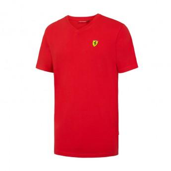Ferrari pánské tričko V-neck red F1 Team 2016