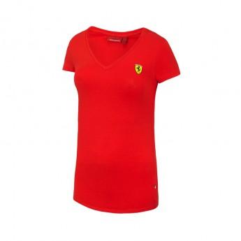 Ferrari dámské tričko V-neck red F1 Team 2016