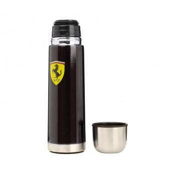 Ferrari kovová termoska black F1 Team 2016