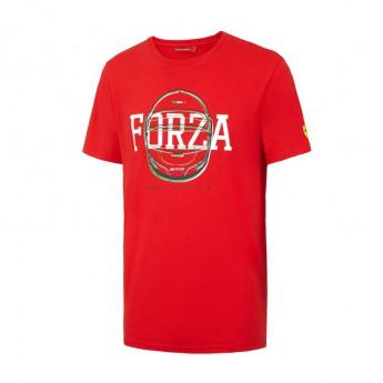 Ferrari pánské tričko Forza Helmet red F1 Team 2016