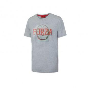 Ferrari pánské tričko Forza Helmet grey F1 Team 2016