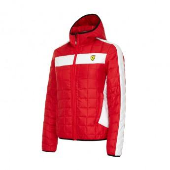 Ferrari dámská bunda Packable red F1 Team 2016