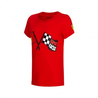 Ferrari dětské tričko Super Racer red Team 2016