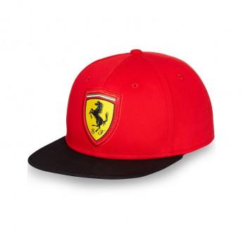 Ferrari kšiltovka Flat Brim Scudetto red F1 Team 2016
