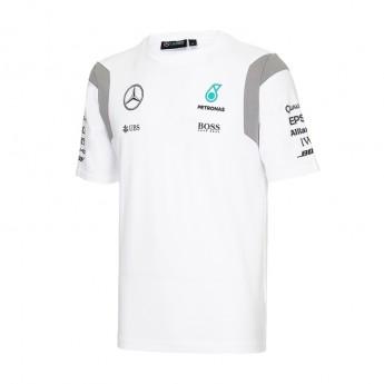 Mercedes AMG Petronas pánské tričko white Team F1 2016