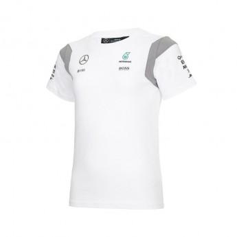 Mercedes AMG Petronas dětské tričko white Team F1 2016
