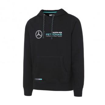 Mercedes AMG Petronas pánská mikina s kapucí black F1 2016