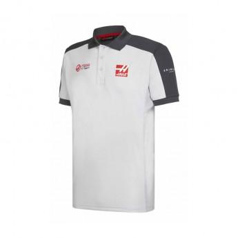 Haas F1 Team pánské polo tričko grey 2016