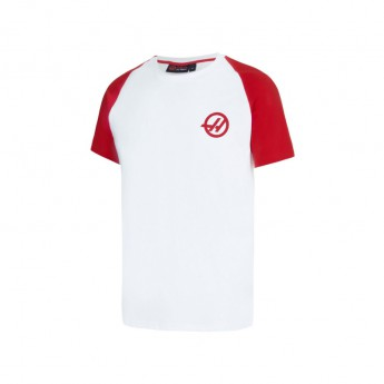Haas F1 pánské tričko Baseball white 2016