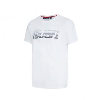 Haas F1 Team pánské tričko Graphic white 2016