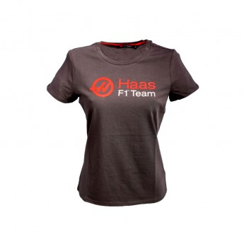 Haas F1 Team dámské tričko Logo grey 2016