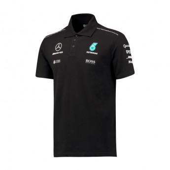 Mercedes AMG Petronas pánské polo tričko black F1 Team 2017