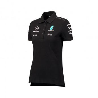 Mercedes AMG Petronas dámské polo tričko black F1 Team 2017