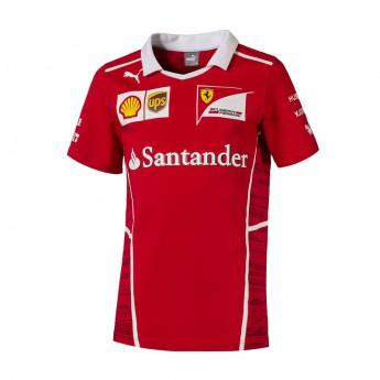 Ferrari pánské tričko red puma F1 Team 2017
