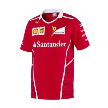 Puma Ferrari pánské tričko Kimi Raikkonen F1 Team 2017