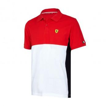 Scuderia Ferrari pánské polo tričko Cut and Sew red F1 Team 2017