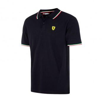 Scuderia Ferrari pánské polo tričko Tricolore black F1 Team 2017