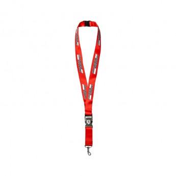 Scuderia Ferrari šňůrka na klíče red F1 Team 2017