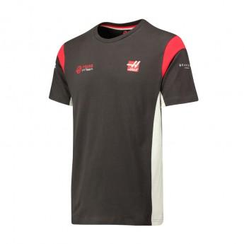 Haas F1 Team pánské tričko grey 2017