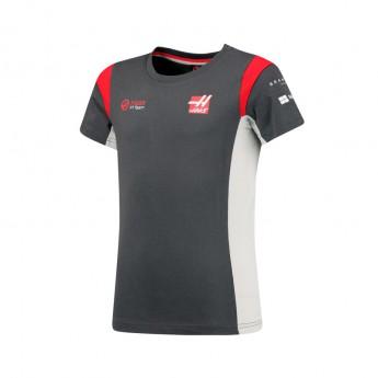Haas F1 Team dětské tričko grey 2017