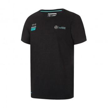 Mercedes AMG Petronas pánské tričko Tour black F1 Team 2017